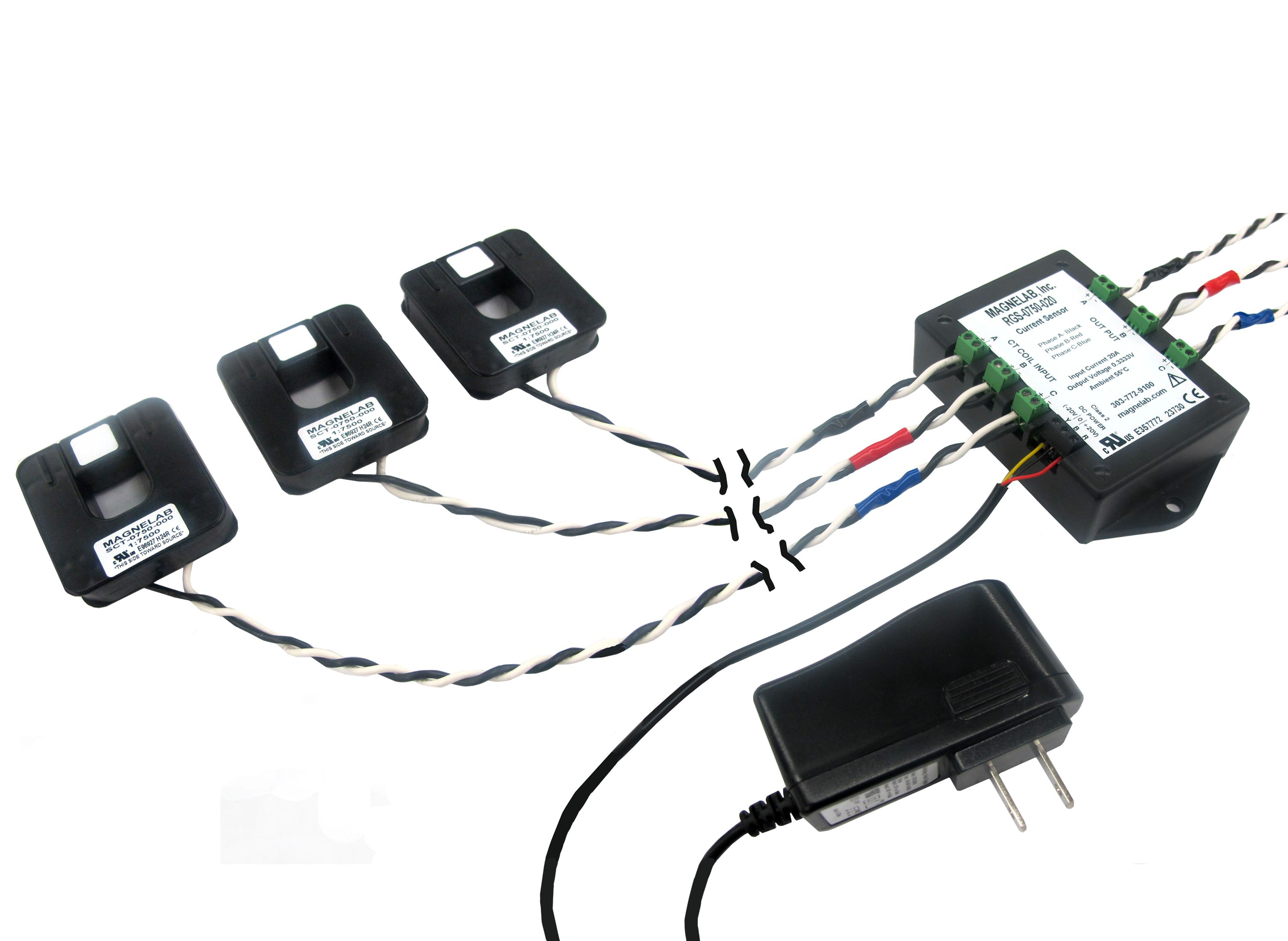 Rgs 0750 Revenue Grade Current Sensor System Magnelab How To Increase Currents Of A Transformer